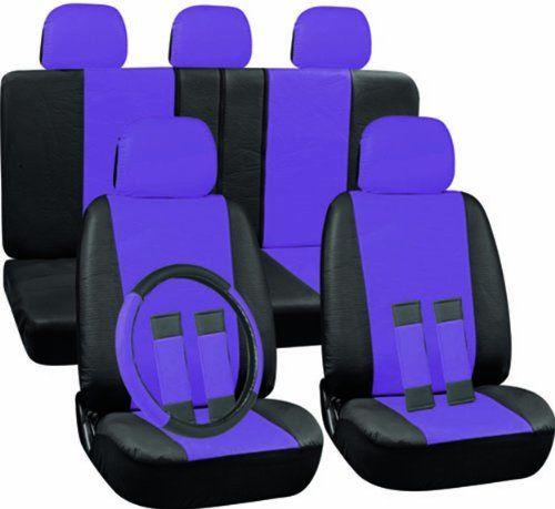 Car seat covers with Hawaiian print